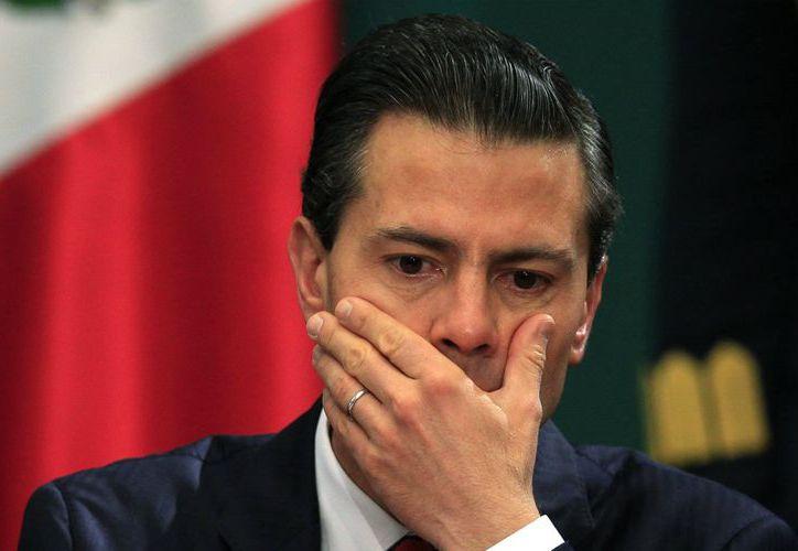 Pobladores de Zapotitlán Salinas impidieron que el presidente Enrique Peña Nieto grabara un spot sobre su Quinto Informe de Gobierno. (Contexto/Internet).