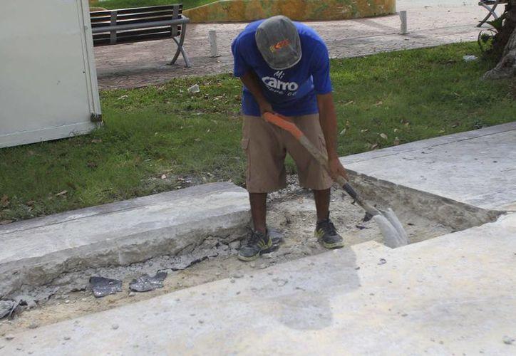 El gobierno estatal invertirá en obras públicas. (Benjamín Pat/SIPSE)