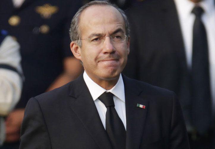 Calderón se sumó a las acusaciones del candidato del PRI, José Antonio Meade. (Noticieros Grem)