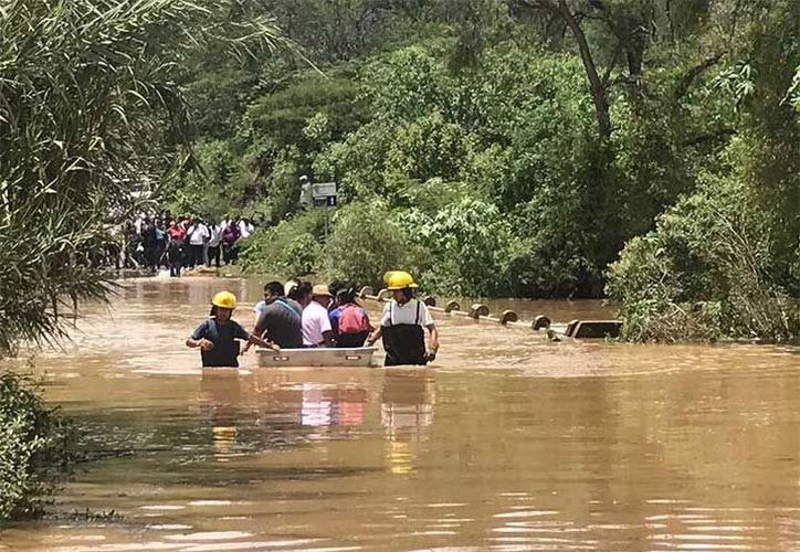 Los principales daños han sido derrumbes y anegaciones de casas; destrucción de cultivos y daños en la infraestructura carretera. (Patricia Briceño/Excelsior)