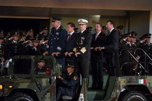 Festejos por el centenario de la creación del Ejército mexicano