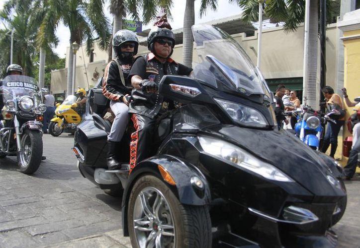 Este domingo iniciarán los motociclistas el retorno a sus lugares de origen, con lo que se dará el cerrojazo del Rally. (Christian Ayala/SIPSE)