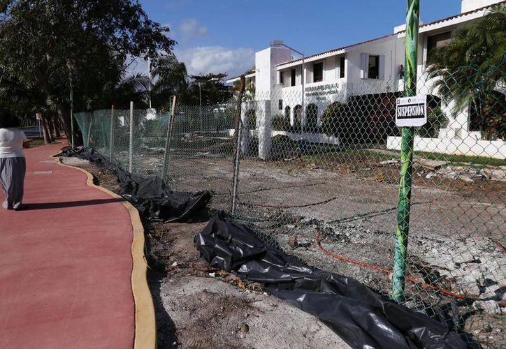 Tras manifestaciones de los ciudadanos, Fonatur decidió restaurar la ciclopista. (Foto: Redacción)