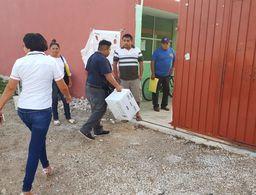 Arranca jornada de votación con 'problemas' en Progreso