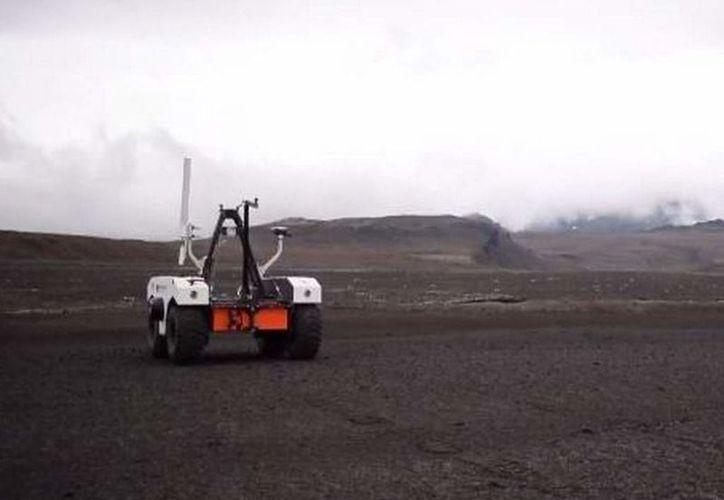 El Curiosity se encuentra recorriendo el cráter Gale en Marte. (NASA)