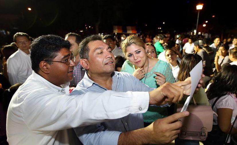El Secretario General de Gobierno convivió con los vecinos de Ciudad Caucel. (SIPSE)
