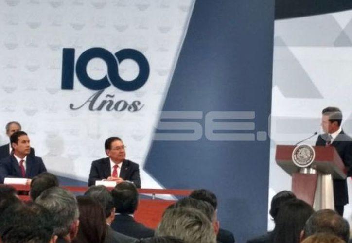 El presidente Enrique Peña Nieto estuvo a cargo de la toma de protesta. (Fotos: Candelario Robles/Milenio Novedades)