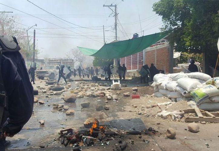 Reportes detallan que el enfrentamiento se prolongó por más de 10 minutos. (Excélsior).
