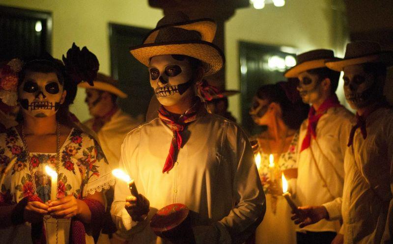 Resultado de imagen para dia de muertos cancun