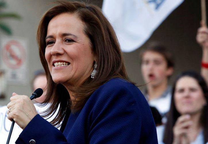Margarita Zavala ha anunciado que renunciará a las prerrogativas del INE. (Foto: Univisión)