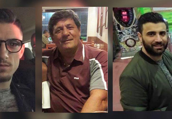 Una de las dos camionetas en las que viajaban los tres italianos desaparecidos en enero, en Jalisco, fue hallada en Michoacán. (Milenio)
