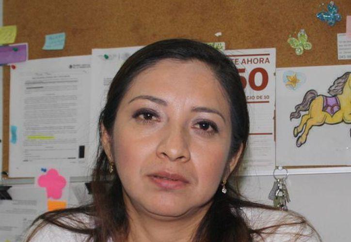 Brenda Camacho Linares, encargada de divulgación de la Profeco. (Octavio Martínez/SIPSE)