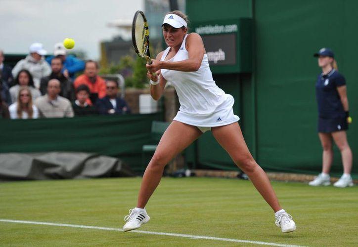 Puig llegó a la final pese a estar situada en el lugar 56 del ranking mundial de la WTA. (hufftingtonpost.com