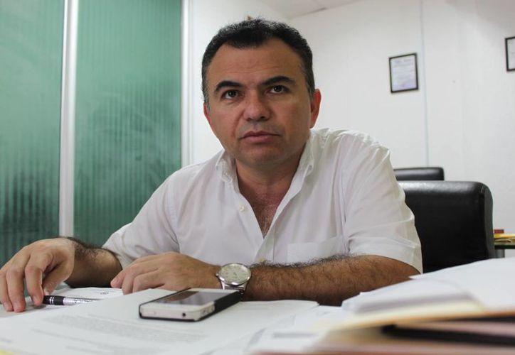 Gabriel Castro Cárdenas, tesorero de la Comuna. (Adrián Barreto/SIPSE)