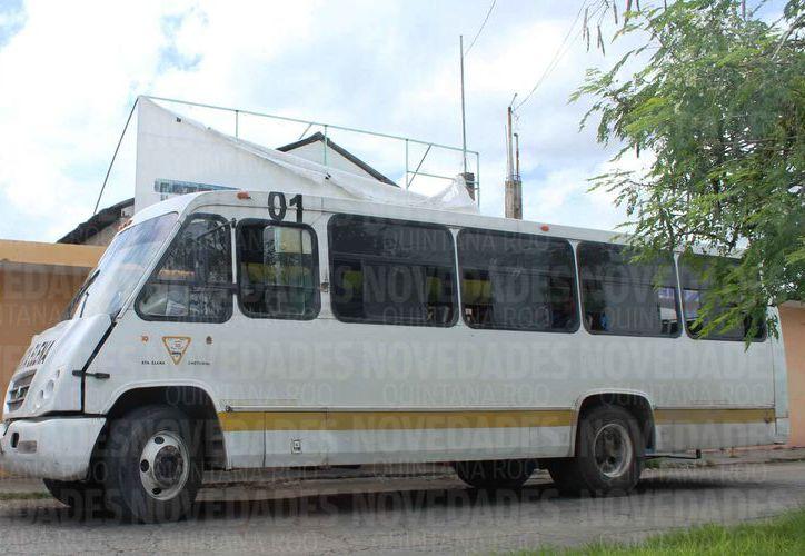 Concesionarán el servicio del transporte urbano en dos rutas en Chetumal. (Ángel Castilla/SIPSE)