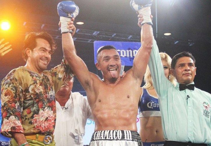 El pugilista yucateco Silverio Ortiz (c) ha ganado nueve de sus últimas diez peleas y ha perdido una. (Facebook/Silverio Ortiz Ley)