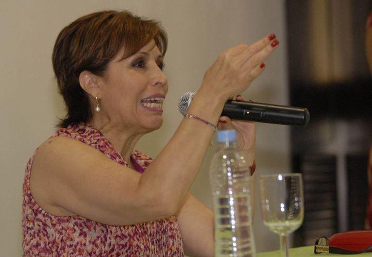 Rosario Robles garantizó a los líderes de los partidos políticos que la actuación de la Sedesol. (Archivo/Notimex)