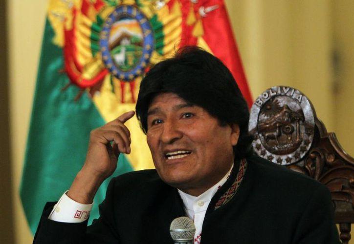 La existencia de un supuesto hijo de Evo Morales con Gabriela Zapata, acusada de varios delitos económicos, provocó un escándalo en Bolivia. (EFE)