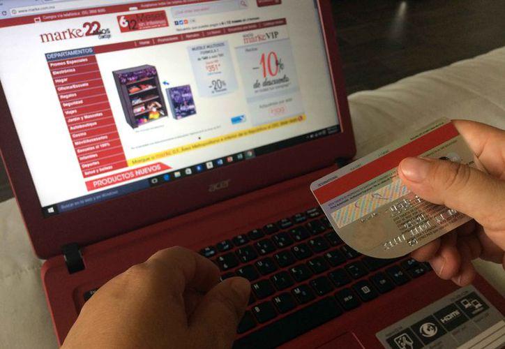 Indican que las compras por internet son seguras. (Luis Soto/SIPSE)