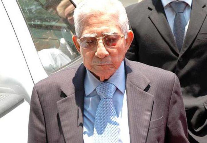 El líder petrolero, La Quina, llevaba varios días internado. (Cuartooscuro/Milenio)