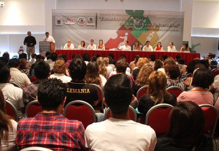 Las actividades del evento se desarrollaron en el Hotel Omni. (Sergio Orozco/SIPSE)