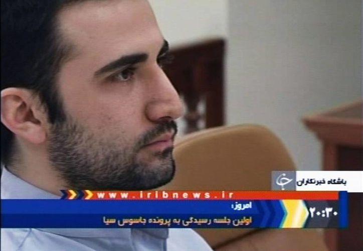 El exinfante de marina estadounidense Amir Hekmati fue salvado de la condena a muerte. (AP)