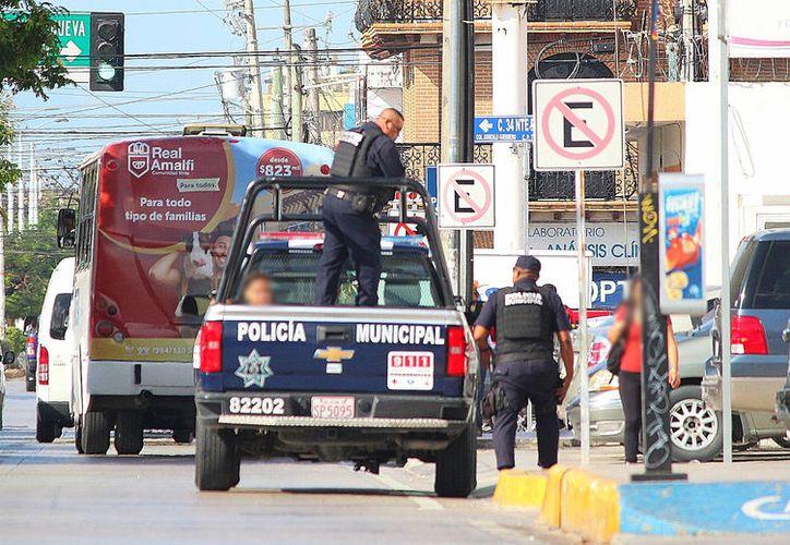 Los operativos buscan reforzar la vigilancia en la zona turística y urbana. (Daniel Pacheco/SIPSE)