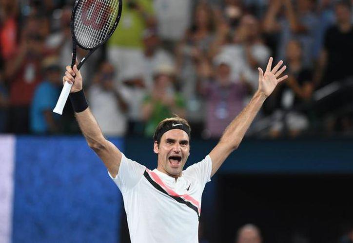 El tenista se conmovió hasta las lágrimas después de haber recibido su victoria. (Foto: Contexto/Internet).