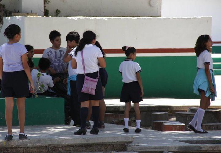 La instancia de Salud entregó 60 tratamientos a la escuela. (Consuelo Javier/SIPSE)