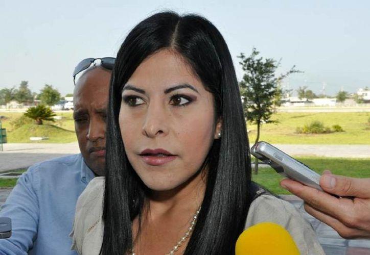 La alcaldesa de Matamoros, Leticia Salazar Vázquez, aún espera una respuesta de la PGR y Segob para dar mayor seguridad a los habitantes de la ciudad fronteriza. (tmpnoticias.com)