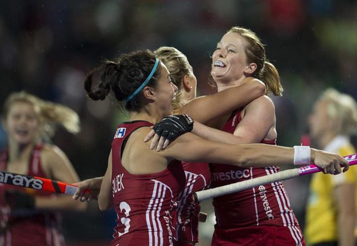 Kate y Helen Richardson-Walsh, integrantes del equipo olímpico de hockey de Gran Bretaña, son un matrimonio gay. (teamgb.com)