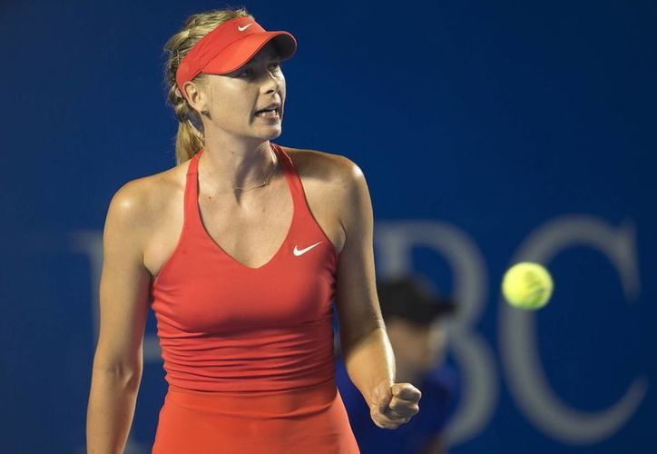Maria Sharapova ganó en cuartos de final en Roma a Victoria Azarenka. (lameta.com)