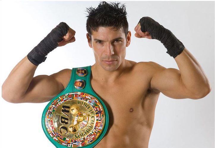 Pese a su extensa carrera, Sergio 'Maravilla' Martínez sólo ha peleado una vez en el mítico Madison Square Garden, en 2012, cuando se enfrentó al británico Matthew Macklin. (maravillabox.com)
