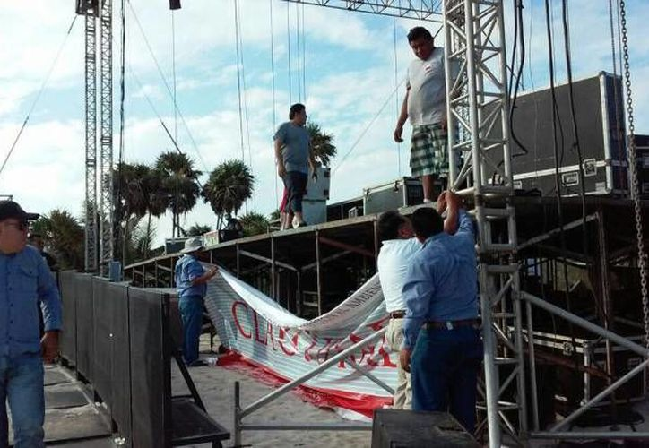 El Festival de Música Electrónica Mayan Madness fue clausurado al no presentar la autorización de impacto ambiental. (Archivo/SIPSE)