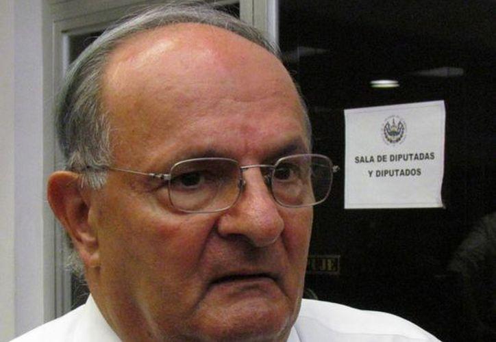 Hato Hasbún, secretario de Gobernabilidad de El Salvador, dijo que la tregua es un 'concepto equivocado' en el conflicto de inseguridad que vive el país. (voces.org.sv)