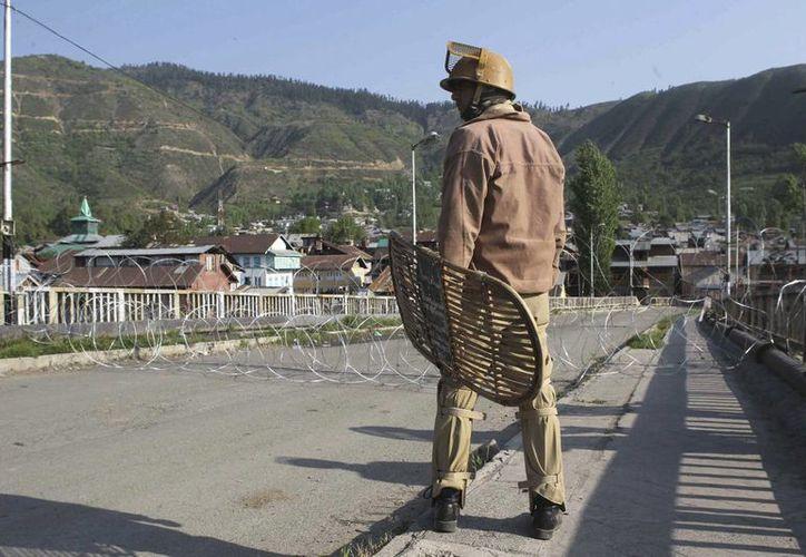 El gobierno indio declaró a los rebeldes maoístas como la principal amenaza para la seguridad del país. (EFE)