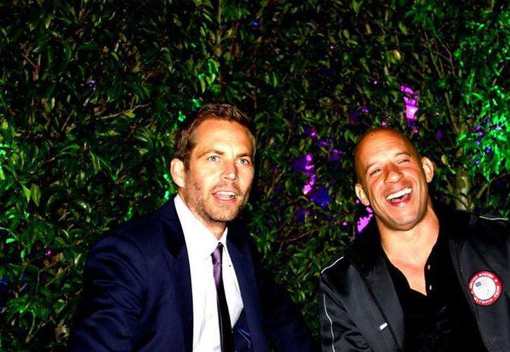 Paul Walker (i) y Vin Diesel eran grandes amigos. (Facebook/Vin Diesel)