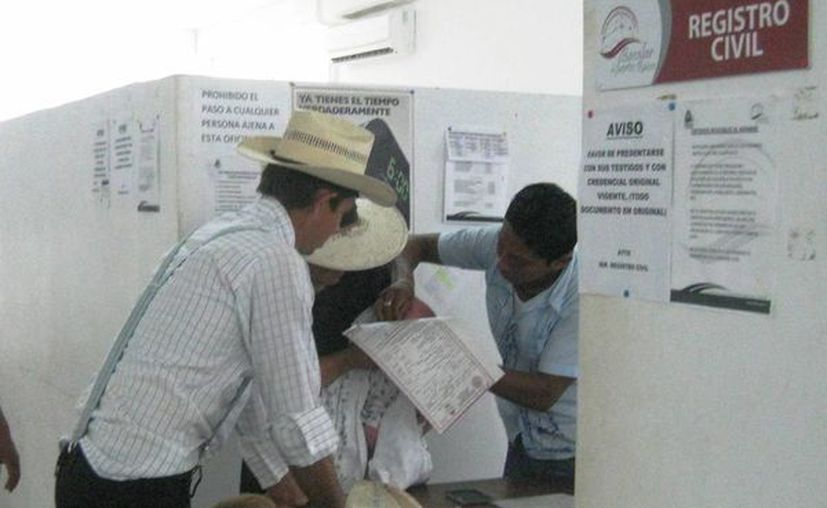 Los ciudadanos menonitas, asentados en Quintana Roo podrán registrar a su hijos con el nombre que ellos escojan. (Javier Ortiz/SIPSE)