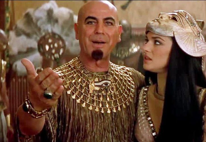 El actor israelí Aharon Ipalé fue  conocido por dar vida al 'Faraón Seti' en las cintas La Momia y La Momia Regresa. (Archivo/Agencias)