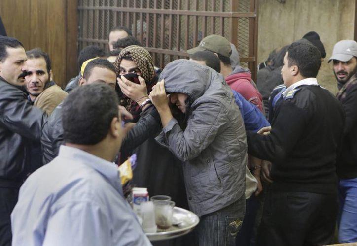 La unión entre personas del mismo sexo no está explícitamente prohibida en la ley egipcia, pero es un tabú en la sociedad de ese país. (AP)