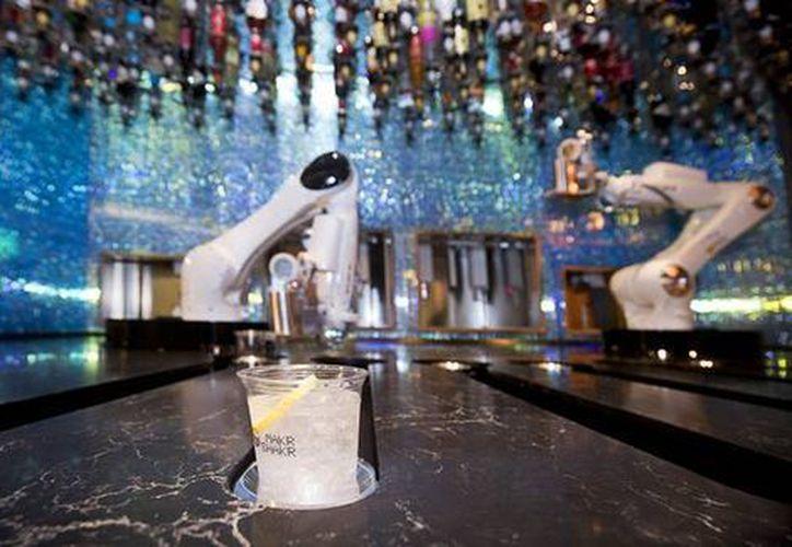 Monsieur y Tended Bar son dos marcas de máquinas expendedoras de bebidas. (Milenio)