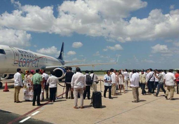 Apenas a inicios de junio se inauguraron vuelos directos desde Mérida a ciudades como Monterrey y Guadalajara. (Archivo/ Milenio Novedades)