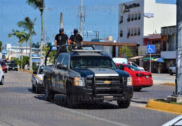 Empresarios de comercios invierten un 20 y 25% a la seguridad en Chetumal. (Foto: David de la Fuente/SIPSE)