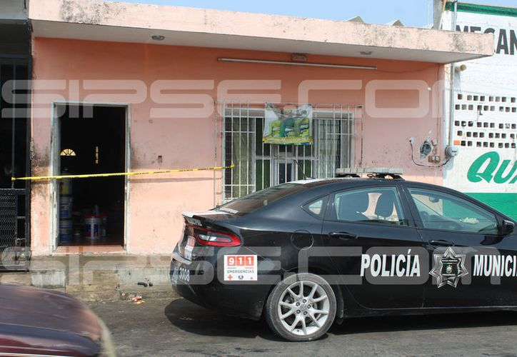La tragedia se presentó en la colonia Canul Reyes del puerto de Progreso. (G. Keb/ Milenio Novedades)