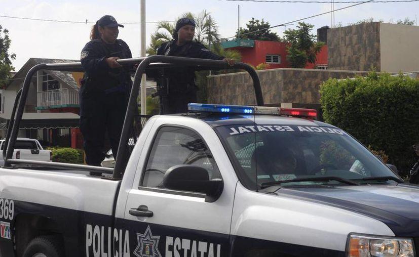 La corporación cuenta con mil 60 policías activos en todo el estado, de los cuales 200 son acreditables. (Harold Alcocer/SIPSE)
