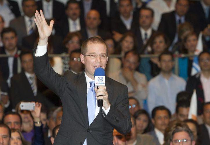 Ricardo Anaya aseguró que el PAN está listo para los retos del 2015. (Archivo/Notimex)