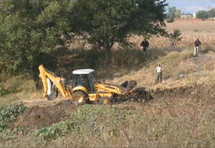 El municipio de La Barca donde fueron hallados 42 cadáveres está en los límites entre Jalisco y Michoacán. (Captura de pantalla)