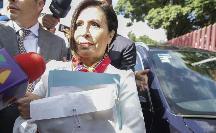 Rosario Robles fue vinculada a proceso y trasladada al penal de Santa Martha Acatitla. (Notimex)