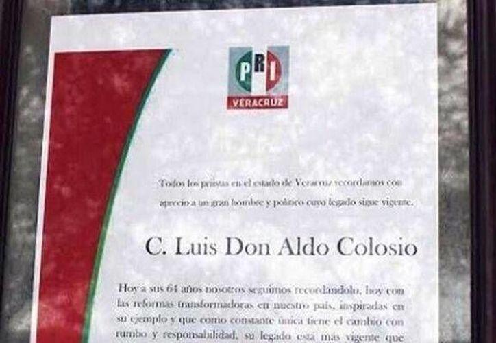 Tuiteros exigen una disculpa pública a la lideresa del PRI en Veracruz por el fatal error. (Tomada de Twitter)
