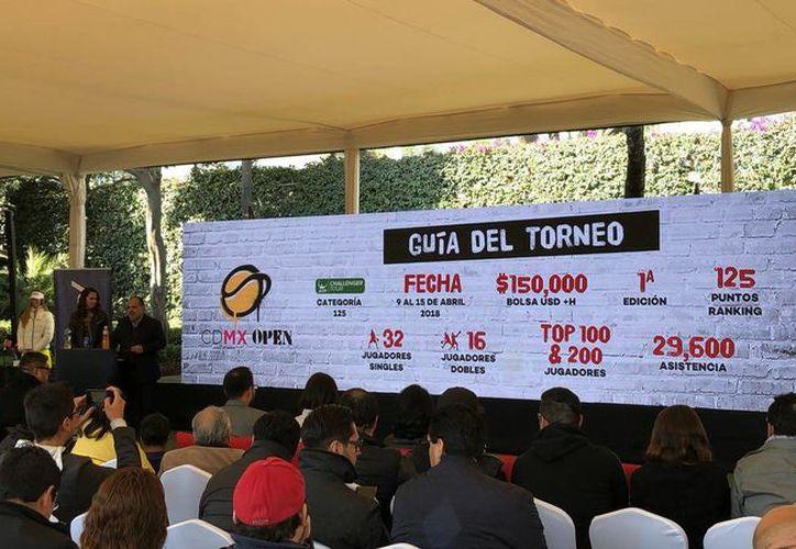 Grupo Pegaso es el encargado también de efectuar el Abierto Los Cabos y Abierto Mexicano de Tenis Acapulco. (Twitter)